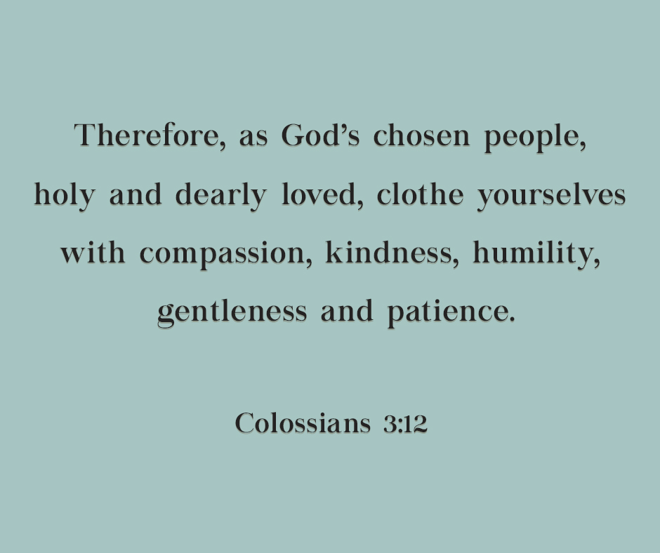 Chosen, Holy and Dearly Loved - Colossians 3:12 - Young Disciples